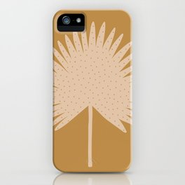 Palm Leaf iPhone Case
