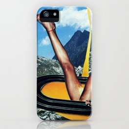 Golden Power   Collage iPhone Case
