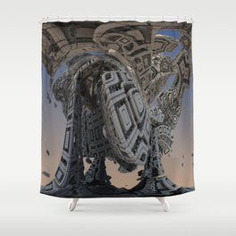 Machine Shower Curtain