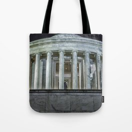 Jefferson Memorial - Side View Tote Bag