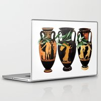 greek Laptop & iPad Skins featuring Ancient Greek by Fifikoussout