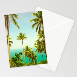 Palm prees Stationery Cards