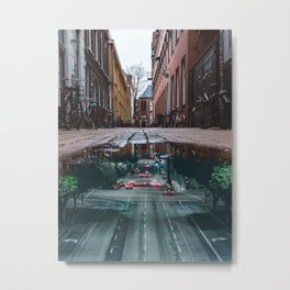 Urban reflections Metal Print