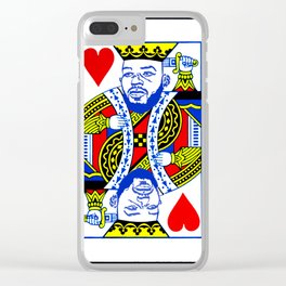 Jon Jones: Suicide King Clear iPhone Case