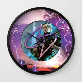 Ral Zarek the Lightning Bender Wall Clock