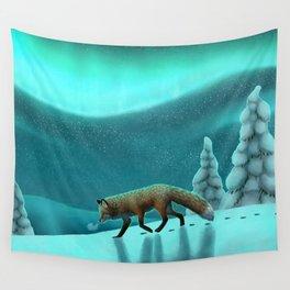 Snowy Fells Wall Tapestry