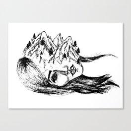 headscape Canvas Print