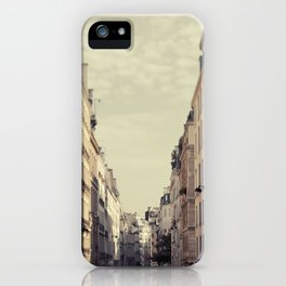 Paris Streets iPhone Case