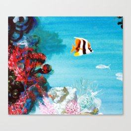 Australian Reef          by Kay Lipton Canvas Print