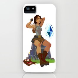 Save Point iPhone Case