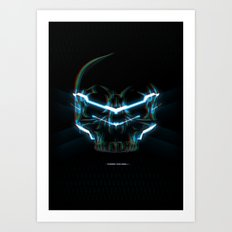 Kiss of Death Art Print