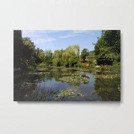 Monets Waterlily Pond Metal Print