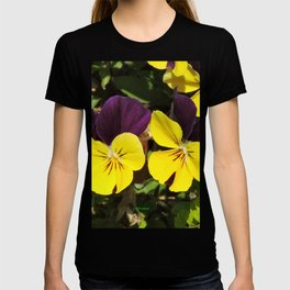 The Pansies at the Corner T-shirt