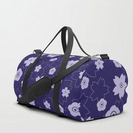 Sakura blossom - midnight blue Duffle Bag
