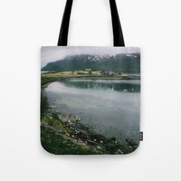 norway Tote Bags featuring Norway by A. Serdyuk
