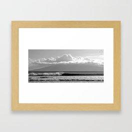 Island Surf Framed Art Print