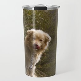 Greek Dog Travel Mug