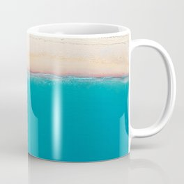 Tropical Beach Vibes | Aerial Photography  Coffee Mug