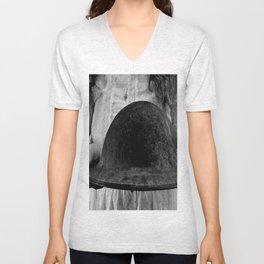 Untitled Black and White Unisex V-Neck
