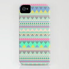 PASTEL AZTEC iPhone (4, 4s) Slim Case