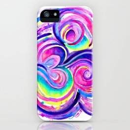 Chill Om iPhone Case