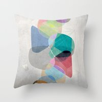 the 100 Throw Pillows featuring Graphic 100 by Mareike Böhmer