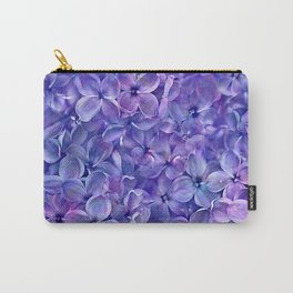Lilac Petals Carry-All Pouch