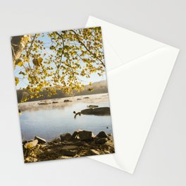 Sunrise On The Potomac (film) Stationery Cards