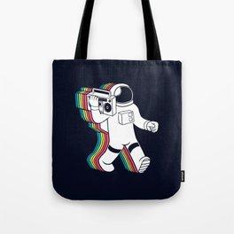astronaut music Tote Bag