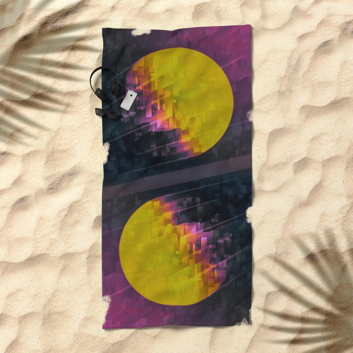 TRAPPIST Connection III Beach Towel