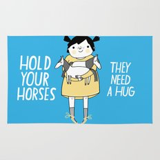 Hold Your Horses Rug