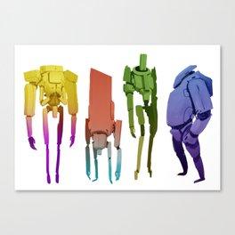 Color Mechs Canvas Print