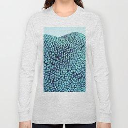 Oxidized Landscape Teal Long Sleeve T-shirt