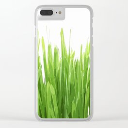 liaves rice Clear iPhone Case
