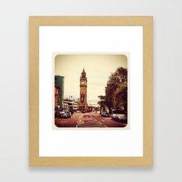 Belfast - Instagram Framed Art Print