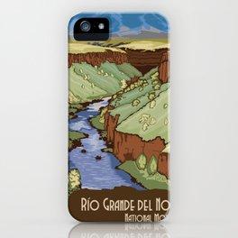 Vintage poster - Rio Grande Del Norte iPhone Case