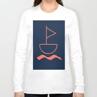sail Long Sleeve T-shirts featuring sail by gzm_guvenc