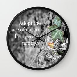 Adopt the Pace Wall Clock