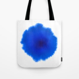 Blue splash Tote Bag