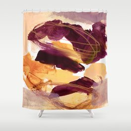 abstract painting XI Shower Curtain