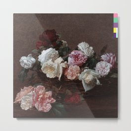 New Order - Power, Corruption & Lies Metal Print