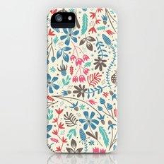 Retro Blooms Slim Case iPhone (5, 5s)