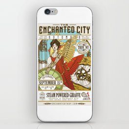 The Enchanted City Poster 2018 iPhone Skin