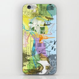 Norwich- City of Stories iPhone Skin