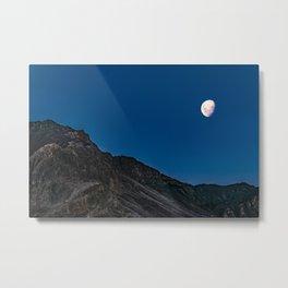 Night Mountains Scene, Aconcagua National, Park, Mendoza, Argentina Metal Print