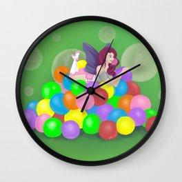 Bubblicious Wall Clock