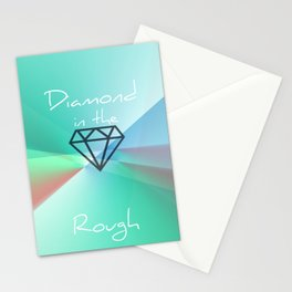 Diamond in the Rough Stationery Cards