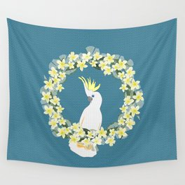 Sulphur Crested Cockatoo Wall Tapestry
