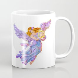 The Antique Angel Muse - Love of Poetry Coffee Mug
