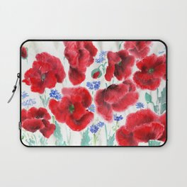 Flowers of the Cornfield Laptop Sleeve